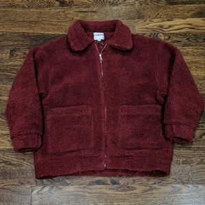 I.AM.GIA. pixie coat deep red size small